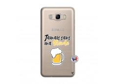 Coque Samsung Galaxy J7 2016 Jamais Sans Ma Blonde