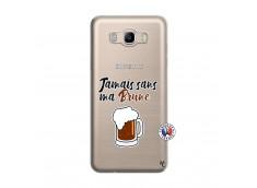 Coque Samsung Galaxy J7 2016 Jamais Sans Ma Brune