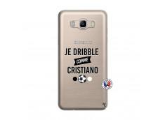 Coque Samsung Galaxy J7 2016 Je Dribble Comme Cristiano