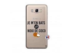 Coque Samsung Galaxy J7 2016 Je m'en bats Les Noix De Coco