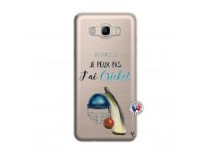 Coque Samsung Galaxy J7 2016 Je peux pas j'ai cricket