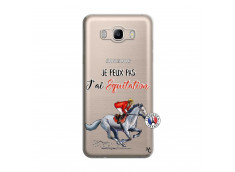 Coque Samsung Galaxy J7 2016 Je Peux Pas J Ai Equitation