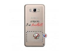Coque Samsung Galaxy J7 2016 Je peux pas j'ai Handball
