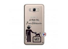 Coque Samsung Galaxy J7 2016 Je Peux Pas Je Suis Veterinaire