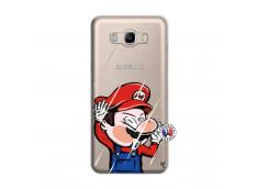 Coque Samsung Galaxy J7 2016 Mario Impact