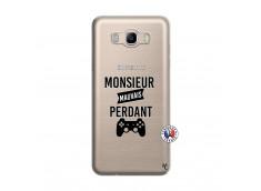 Coque Samsung Galaxy J7 2016 Monsieur Mauvais Perdant