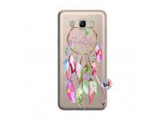 Coque Samsung Galaxy J7 2016 Pink Painted Dreamcatcher