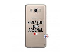 Coque Samsung Galaxy J7 2016 Rien A Foot Allez Arsenal