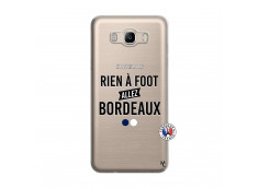 Coque Samsung Galaxy J7 2016 Rien A Foot Allez Bordeaux