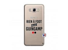 Coque Samsung Galaxy J7 2016 Rien A Foot Allez Guingamp