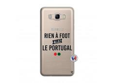 Coque Samsung Galaxy J7 2016 Rien A Foot Allez Le Portugal