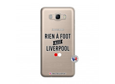 Coque Samsung Galaxy J7 2016 Rien A Foot Allez Liverpool