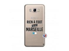 Coque Samsung Galaxy J7 2016 Rien A Foot Allez Marseille