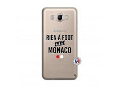 Coque Samsung Galaxy J7 2016 Rien A Foot Allez Monaco