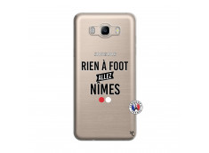 Coque Samsung Galaxy J7 2016 Rien A Foot Allez Nimes