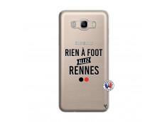 Coque Samsung Galaxy J7 2016 Rien A Foot Allez Rennes