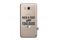 Coque Samsung Galaxy J7 2016 Rien A Foot Allez Toulouse