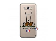 Coque Samsung Galaxy J7 2016 100 % Rugbyman Entre les Poteaux