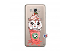 Coque Samsung Galaxy J7 2016 Catpucino Ice Cream