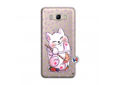 Coque Samsung Galaxy J7 2016 Smoothie Cat