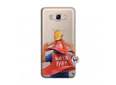 Coque Samsung Galaxy J7 2016 Super Papa et Super Bébé