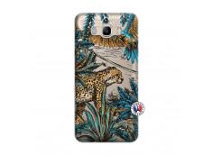 Coque Samsung Galaxy J7 2016 Leopard Jungle