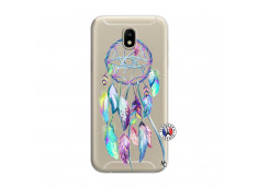 Coque Samsung Galaxy J7 2017 Blue Painted Dreamcatcher