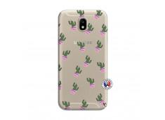 Coque Samsung Galaxy J7 2017 Cactus Pattern