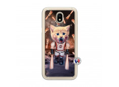 Coque Samsung Galaxy J7 2017 Cat Nasa Translu