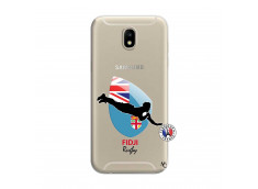 Coque Samsung Galaxy J7 2017 Coupe du Monde Rugby Fidji