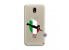 Coque Samsung Galaxy J7 2017 Coupe du Monde Rugby-Italy