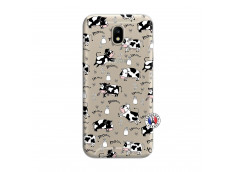 Coque Samsung Galaxy J7 2017 Cow Pattern