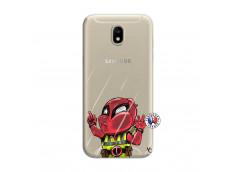 Coque Samsung Galaxy J7 2017 Dead Gilet Jaune Impact
