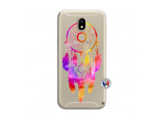 Coque Samsung Galaxy J7 2017 Dreamcatcher Rainbow Feathers