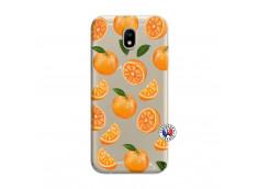 Coque Samsung Galaxy J7 2017 Orange Gina