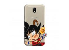 Coque Samsung Galaxy J7 2017 Goku Impact