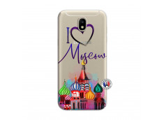 Coque Samsung Galaxy J7 2017 I Love Moscow