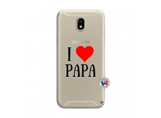 Coque Samsung Galaxy J7 2017 I Love Papa
