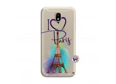 Coque Samsung Galaxy J7 2017 I Love Paris