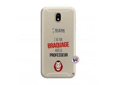Coque Samsung Galaxy J7 2017 J Peux Pas J Ai Un Braquage Avec Le Professeur