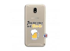 Coque Samsung Galaxy J7 2017 Jamais Sans Ma Blonde