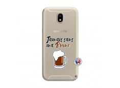 Coque Samsung Galaxy J7 2017 Jamais Sans Ma Brune