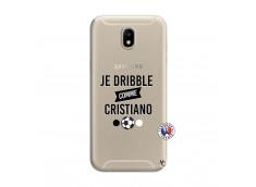 Coque Samsung Galaxy J7 2017 Je Dribble Comme Cristiano