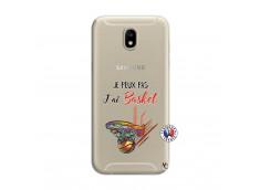 Coque Samsung Galaxy J7 2017 Je Peux Pas J Ai Basket