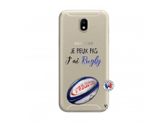Coque Samsung Galaxy J7 2017 Je Peux Pas J Ai Rugby