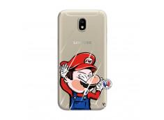 Coque Samsung Galaxy J7 2017 Mario Impact