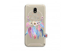 Coque Samsung Galaxy J7 2017 Multicolor Watercolor Floral Dreamcatcher