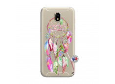 Coque Samsung Galaxy J7 2017 Pink Painted Dreamcatcher