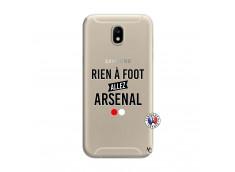 Coque Samsung Galaxy J7 2017 Rien A Foot Allez Arsenal