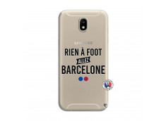 Coque Samsung Galaxy J7 2017 Rien A Foot Allez Barcelone